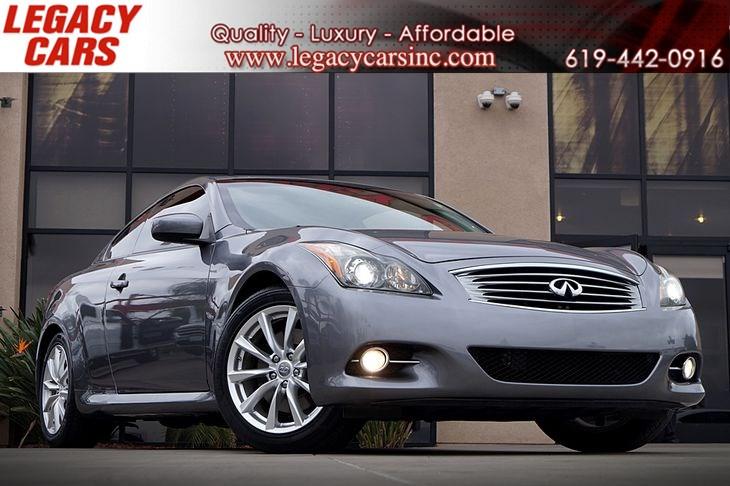 Sold 2012 INFINITI G37 Coupe Journey in El Cajon