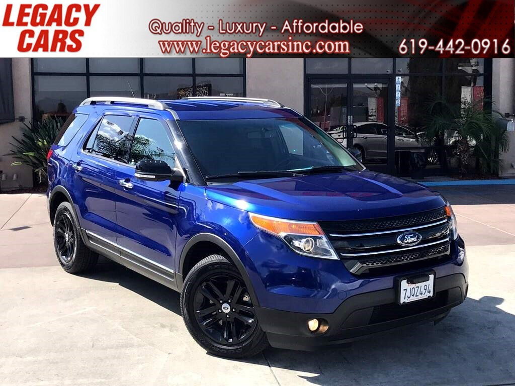 Sold 2015 Ford Explorer Xlt Ecoboost W Nav 3rd Row In El Cajon Featured