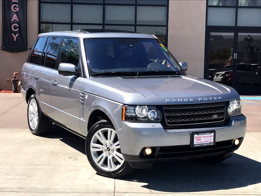 Sold 2012 Land Rover Range Hse Lux 4x4 W Nav Sunroof Dvd In El Featured