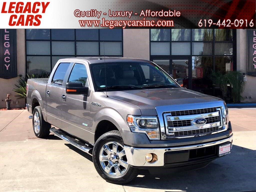 2014 Ford F 150 ECOBOOST XLT PLUS W/OFF ROAD PACKAGE