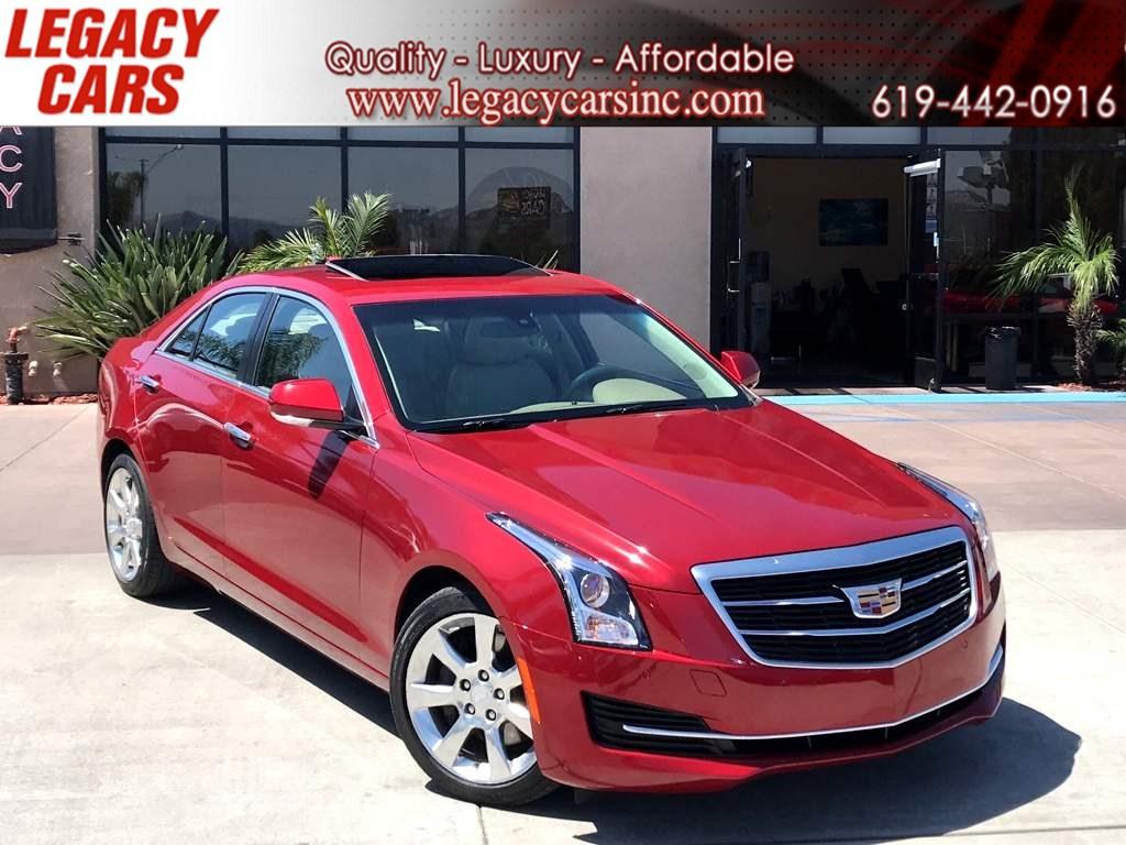 2016 Cadillac ATS Sedan Luxury Collection w/Nav/Sunroof - Legacy Cars
