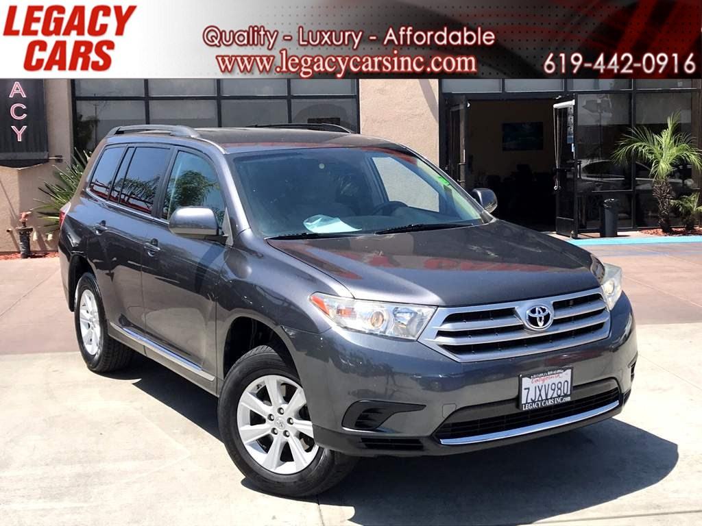 Cars With 3rd Row >> Used 2013 Toyota Highlander 4wd V6 W Media Screen 3rd Row In El Cajon