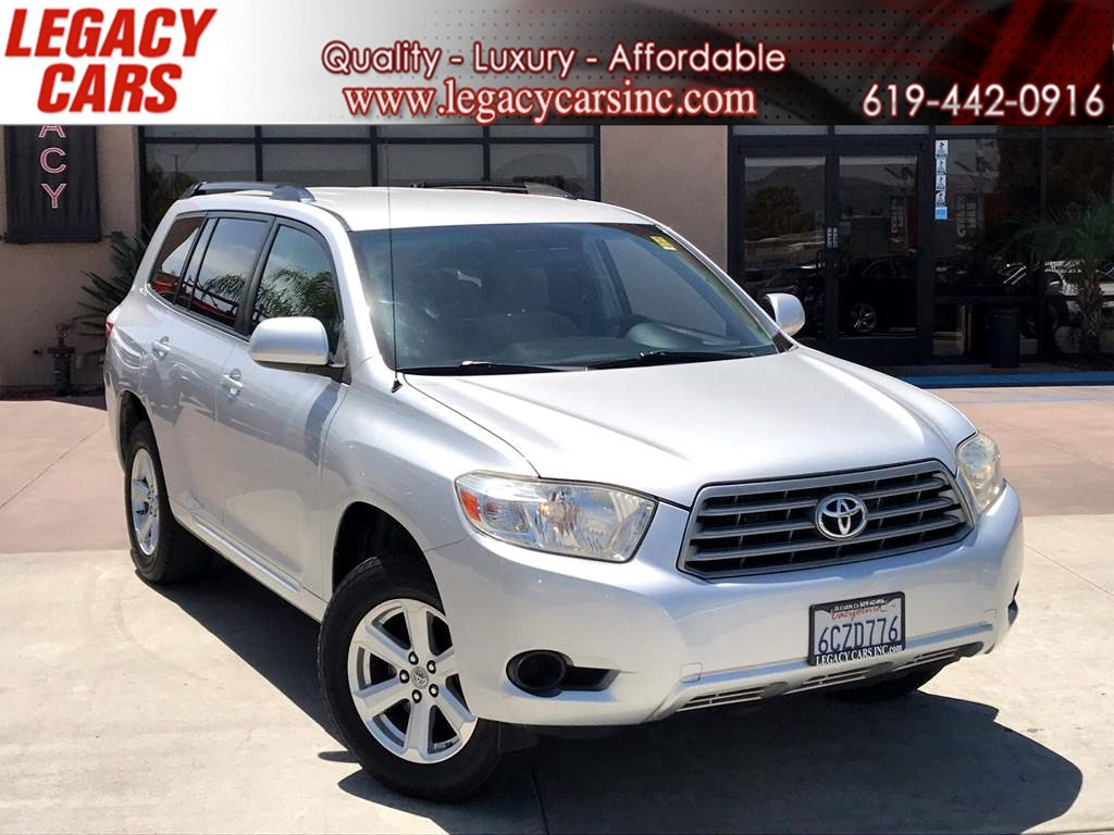 2008 Toyota Highlander V6 One Owner Low Miles - Legacy Cars