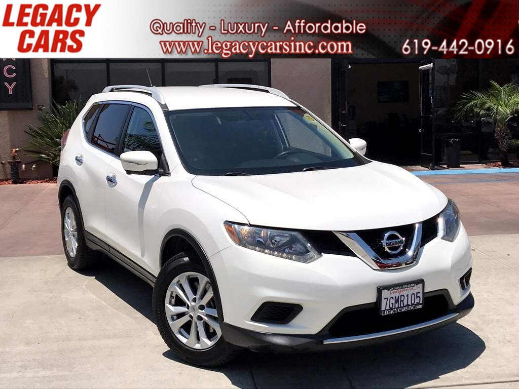 Nissan Rogue 3Rd Row >> Used 2014 Nissan Rogue Sv Premium Pkg W Nav Backup Camera 3rd Row