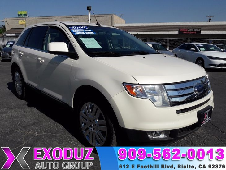 2008 Ford Edge Limited & Used Ford for sale in Rialto CA - Exodus Auto Group markmcfarlin.com
