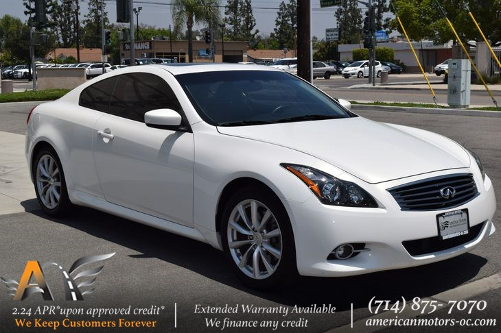 Sold 2011 Infiniti G37 Coupe Journey In Fullerton