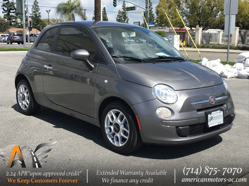 Sold 2012 FIAT 500 Pop in Fullerton