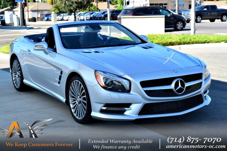 2016 Mercedes-Benz SL 550