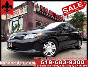 View 2012 Honda Civic Hybrid ~ CLEAN CARFAX~NAVIGATION SYS~2 KEYS