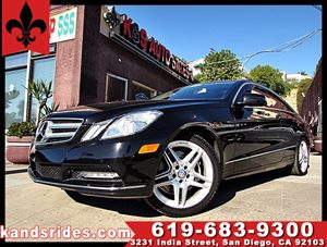 View 2013 Mercedes-Benz E350 COUPE AMG STYLE~1 OWNER~WOOD TRIM DASH~NAV