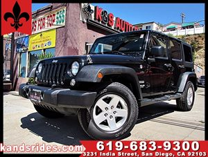 View 2014 Jeep Wrangler Unlimited SPORT~4X4~MP3~1 OWNER~
