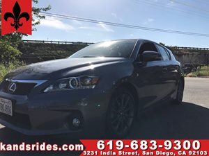 View 2013 Lexus CT 200h Hybrid~1 Owner~F Sport Pkg~Leather seats~