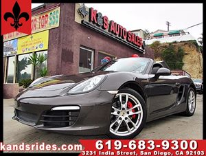 View 2013 Porsche Boxster S~Sport pkg~1 Owner~6 speed Manual 315 hp