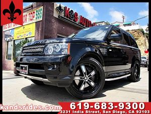 View 2012 Land Rover Range Rover Sport SUPER CHARGE~CLEAN CARFAX~