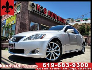 View 2010 Lexus IS 250 sport Sedan~clean carfax~Cooled&Heated seat
