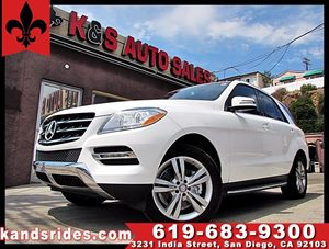 View 2015 Mercedes-Benz ML 350 PREMIUM PKG 1~CLEAN CARFAX~NAVIGATION SYS~