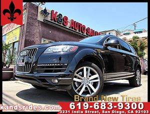 View 2014 Audi Q7 3.0T Premium Plus** 4 New Tires**1 Owner**Navi*