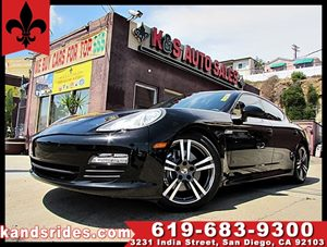 View 2013 Porsche Panamera SPORT CHRONO PKG~1 OWNER~FULL LEATHER~