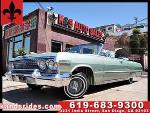 View 1963 Chevrolet Impala SS COVERTIBLE**