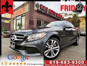 View 2015 Mercedes-Benz C 300 4MATIC LUXURY**NAVIGATION**PANOROOF**BACK UP