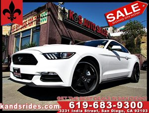 View 2015 Ford Mustang~CARFAX 1 OWNER~