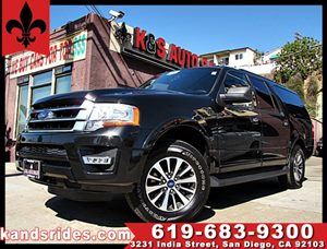 View 2015 Ford Expedition EL XLT~CARFAX 1 OWNER~3 ROW SEATING~