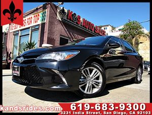 View 2016 Toyota Camry SE ~BLACK ON BLACK~1 OWNER CARFAX~