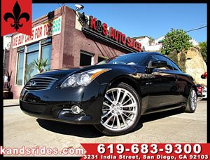 View 2013 Infiniti G37 CONVERTIBLE ~1 OWNER CARFAX