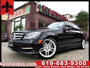 View 2011 Mercedes-Benz C300 SPORT~MOON ROOF~IPOD auxiliary
