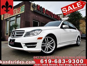 View 2013 Mercedes-Benz C250 SPORT~1 OWNER CARFAX~1 KEY FOBS~