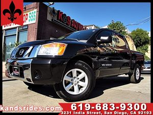 View 2008 Nissan Titan SE crew canb~clean carfax~2wd