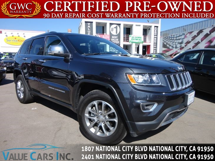 Used 2016 Jeep Grand Cherokee Limited In National City