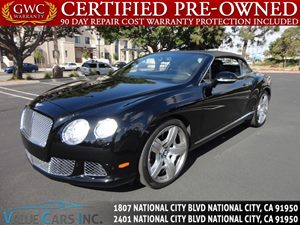 View 2012 Bentley Continental GT