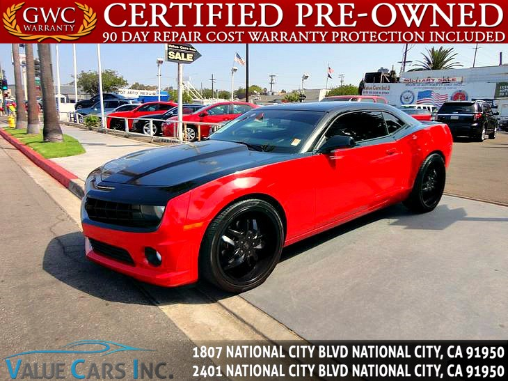 Sold 2010 Chevrolet Camaro Ss Coupe 2d In National City