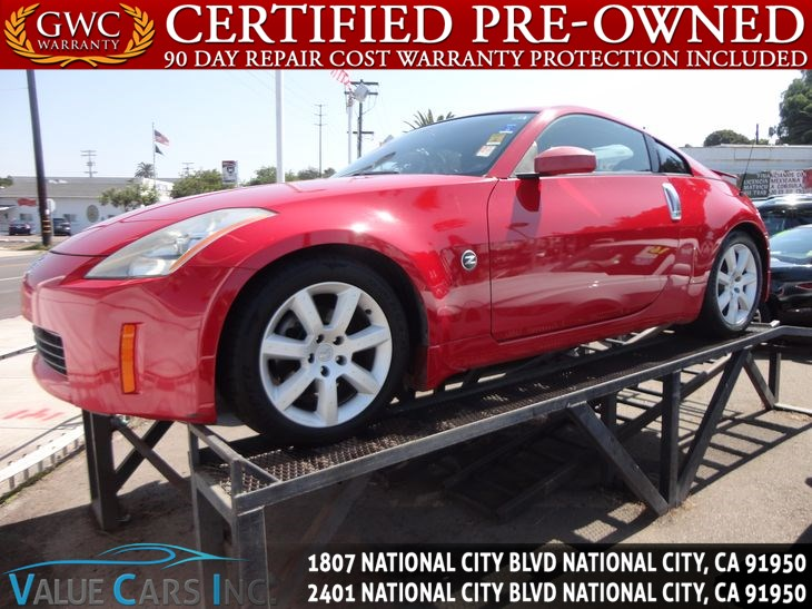 Sold 2004 Nissan 350z Enthusiast Coupe 2d In National City