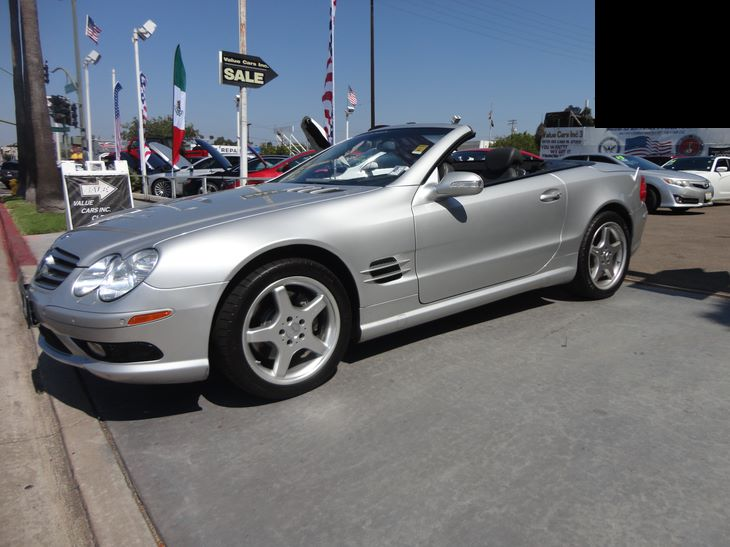 Used 2003 Mercedes-Benz SL500 SL500 Roadster 2D in National City