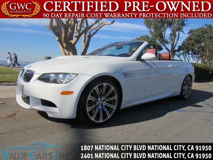 Sold 2009 Bmw M3 Convertible 2d In National City