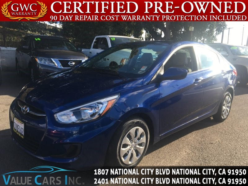 Sold Hyundai Accent SE Sedan D In National City - Dealer invoice price hyundai accent