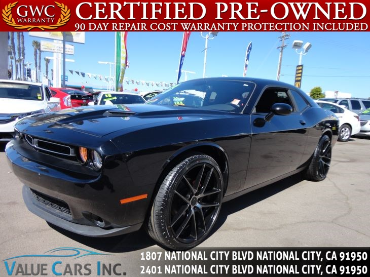 Sold Dodge Challenger SXT Coupe D In National City - Dodge challenger invoice price