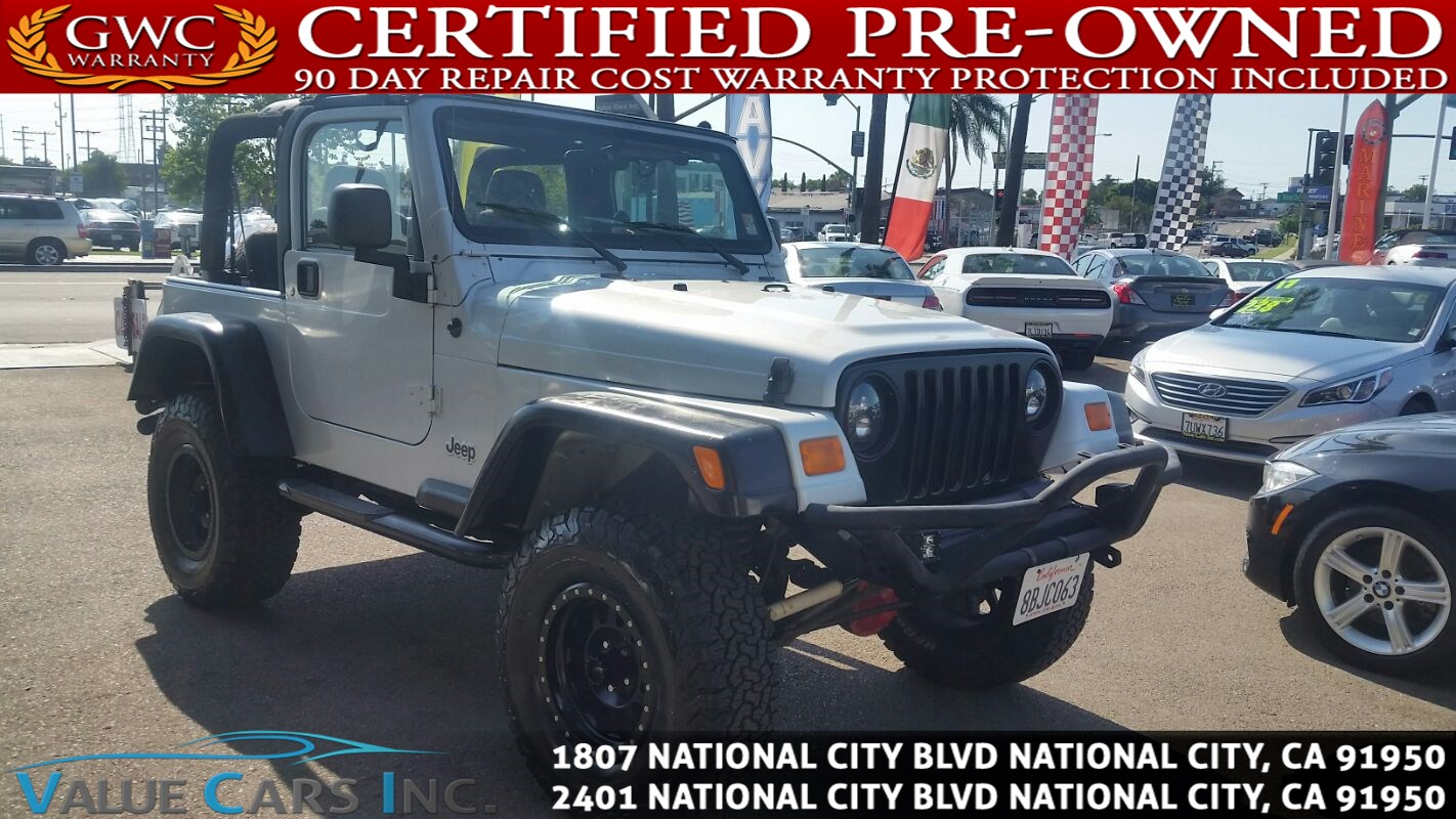 Sold 2006 Jeep Wrangler X Sport Utility 2D In National City