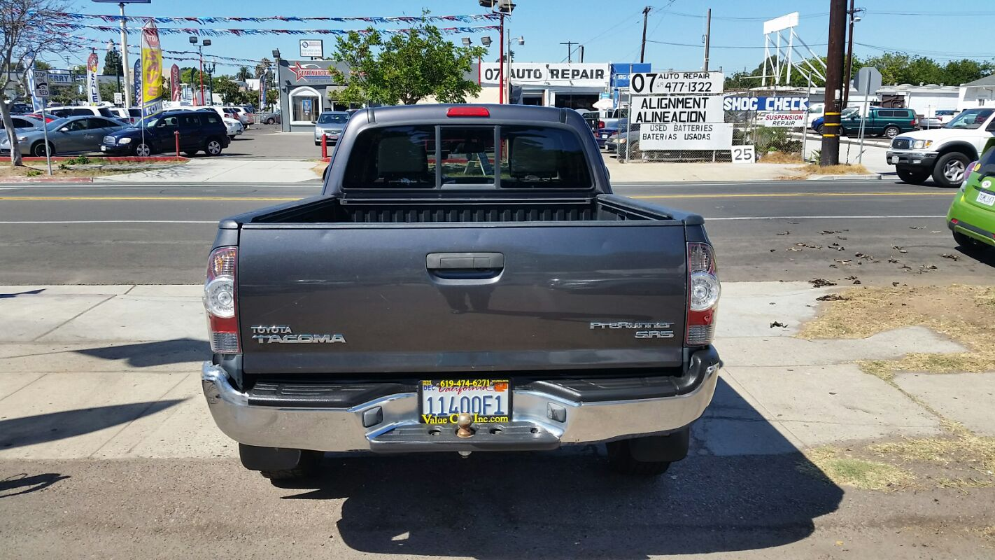 Sold 2012 Toyota Tacoma PreRunner in National City