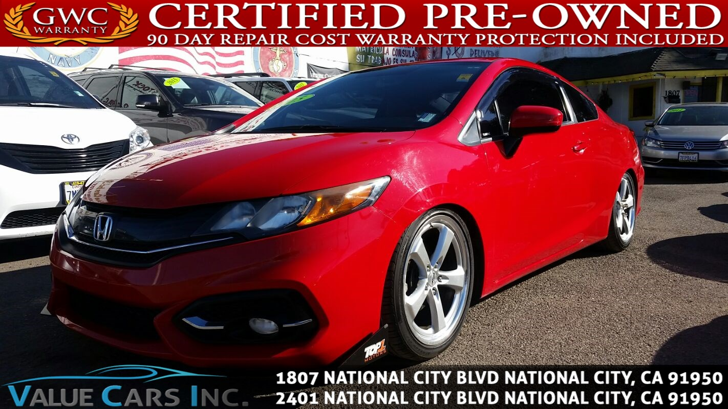 Used 2015 Honda Civic Coupe Lx In National City