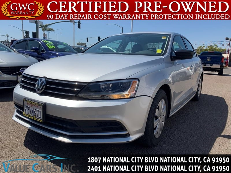 2016 Volkswagen Jetta Sedan 1.4T S Sedan 4D