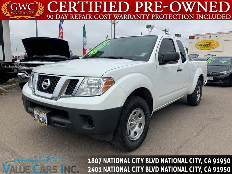 Nissan National City >> Sold 2017 Nissan Frontier S In National City
