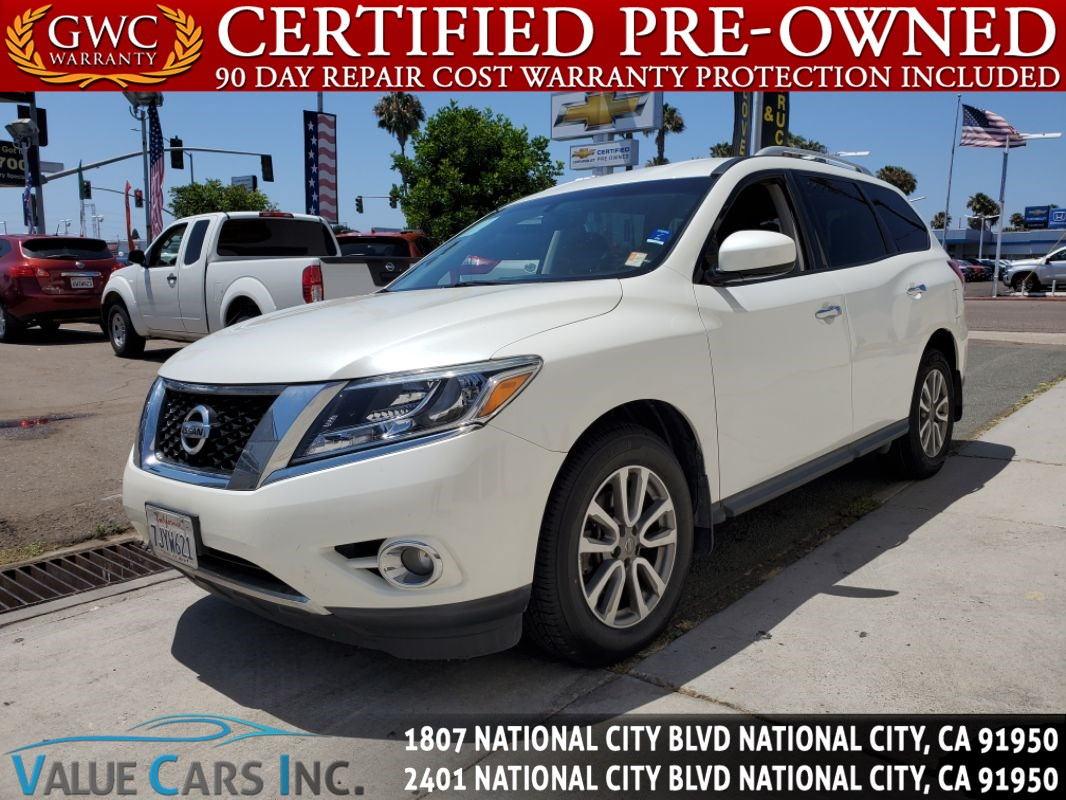 Nissan National City >> Used 2015 Nissan Pathfinder Sv In National City