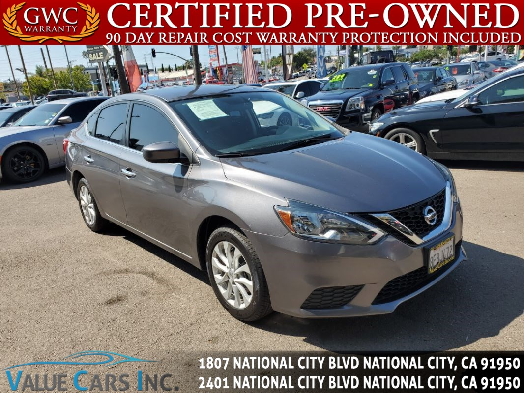 Nissan National City >> Used 2018 Nissan Sentra Sv In National City