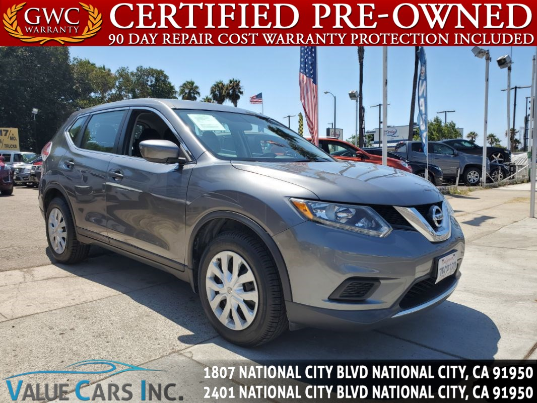 Nissan National City >> Sold 2016 Nissan Rogue S In National City