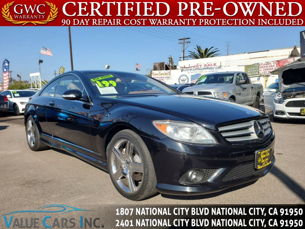 2007 Mercedes-Benz CL550 CL 550 Coupe 2D