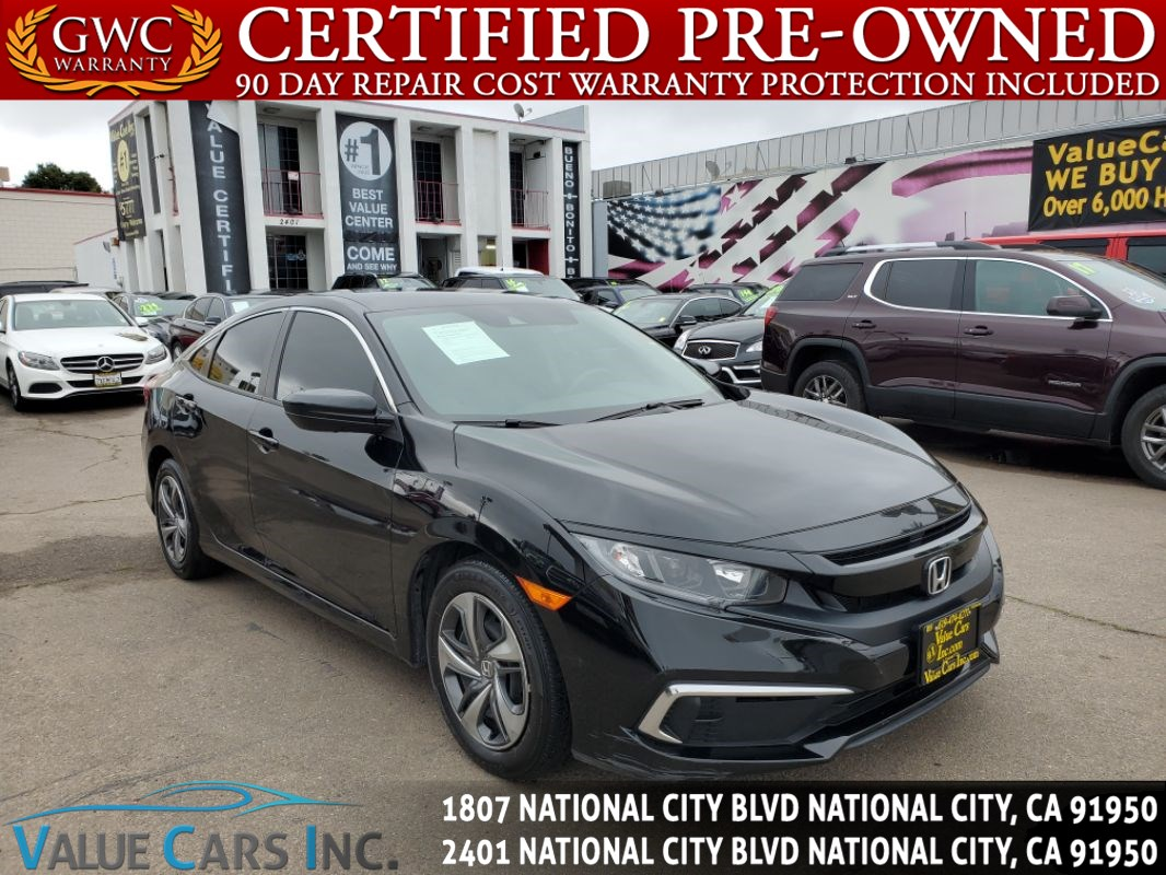 2019 Honda Civic Sedan LX Sedan 4D