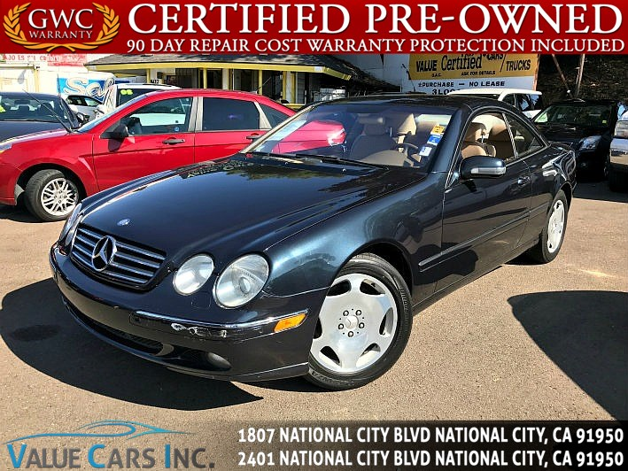 Used MercedesBenz CLClass Coupe In National City - California mercedes benz dealers